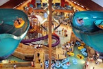Klondike Kavern   Located in the New Frontier Region of the hotel. Klondike Kavern is the perfect escape offering over 65,000 square feet of nonstop indoor waterpark fun. Click on image above for more info - then Register!