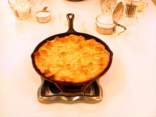 Sweet Corn Bread Pudding Recipe : Alton Brown : Food Network