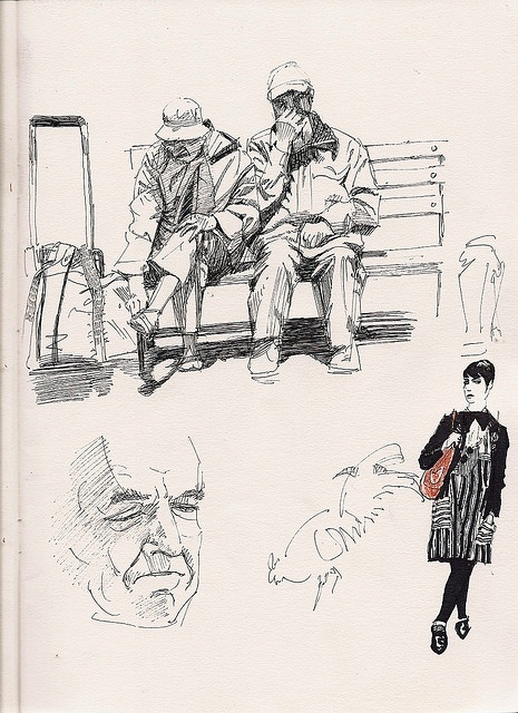 pen Sketches by Roland's Revue, via Flickr