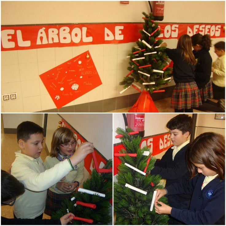 El árbol de los deseos |Colegio San Cristobal