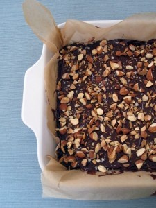 Sea Salt Toffee Bars by Chloe Coscarelli - these are a HUGE hit