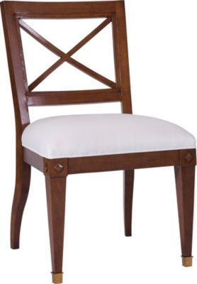 Trouvais Dining Chair from the Suzanne Kasler® collection by Hickory Chair Furniture Co.