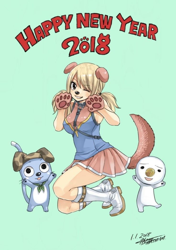 Happy New Year Fairy Tail fans!