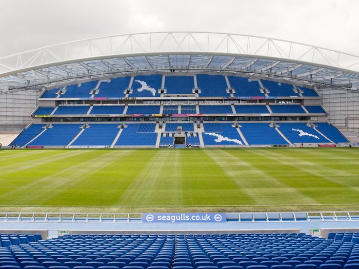 The Amex Community Stadium, Brighton & Hove Albion FC #bhafc
