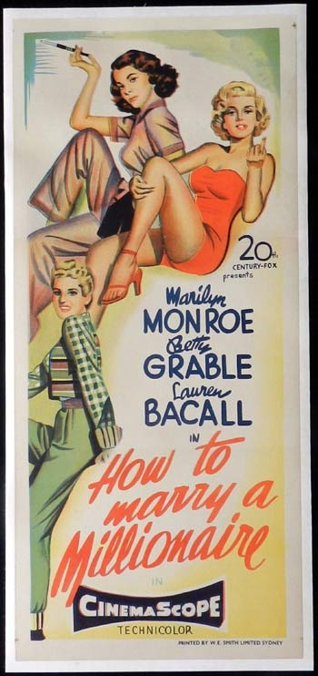 HOW TO MARRY A MILLIONAIRE 1953 One of my favorite Marilyn Monroe movies
