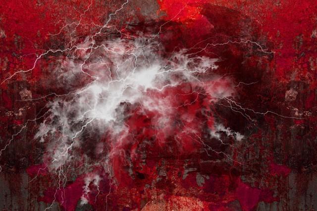 layered lightning textured background 2