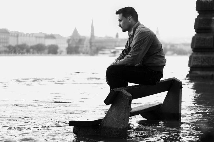 #Flood #Danube #Duna #Árvíz #Ár #Budapest #Széchenyi Chain Bridge #Széchenyi lánchíd