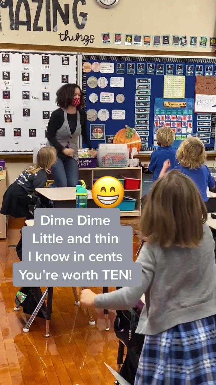 Amanda Mrstessierkindergarten On Tiktok Coin Chants Kindergarten Teacher Teachersoftiktok Teach Kindergartenteacher