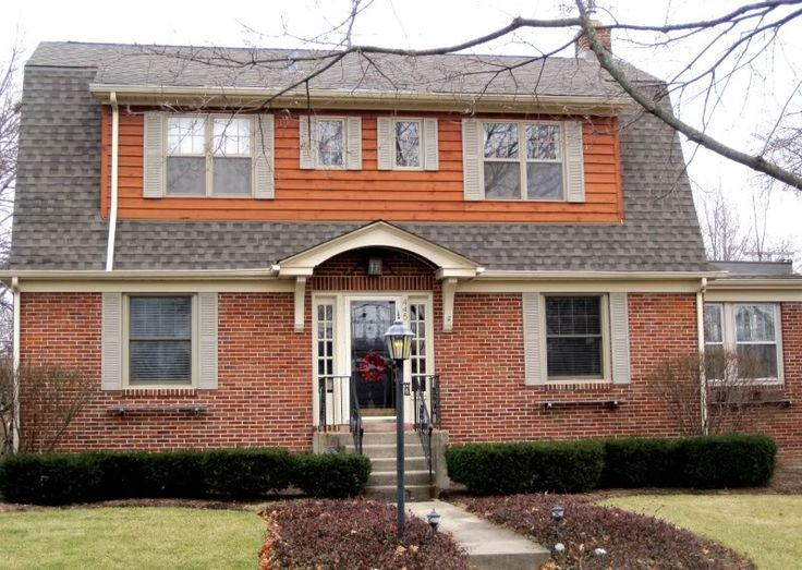 Home exterior updating dutch colonial joy studio design gallery best design for Updated colonial home exterior