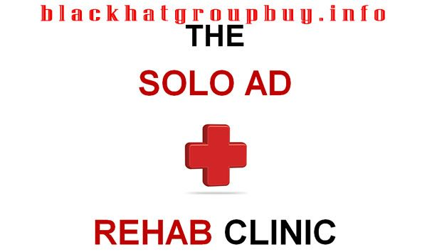 Solo Ad Rehab Clinic By Gavin Birchall | Latest IM Training Courses | Blackhat Group Buy info