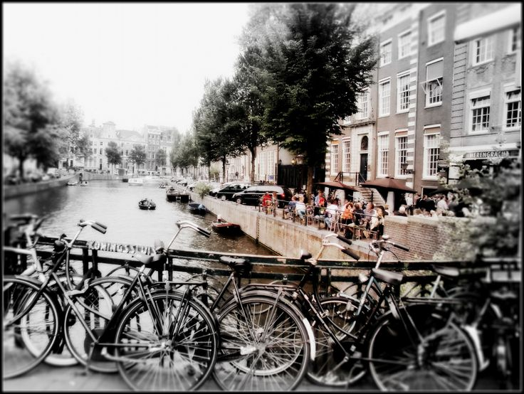 Bicycle Race ;)Amsterdam by MarionVPutten  on 500px