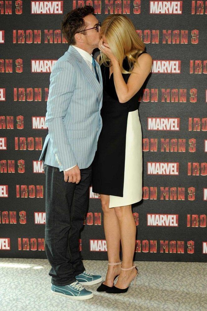 Gwyneth Paltrow & Robert Downey
