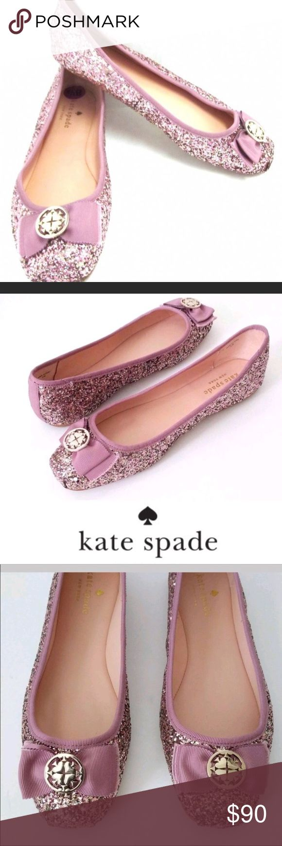 Kate spade Fontana too. 8.5. New. Offers please!! Gorgeous . Feminine. Light weight ballet flat. It will make you smile when I'm you see it on your feet, they look so good!.  No box. I have other sizes for sale too. Just ask. kate spade Shoes Flats & Loafers