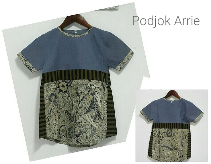 Top Denim - Classic Batik with Lurik