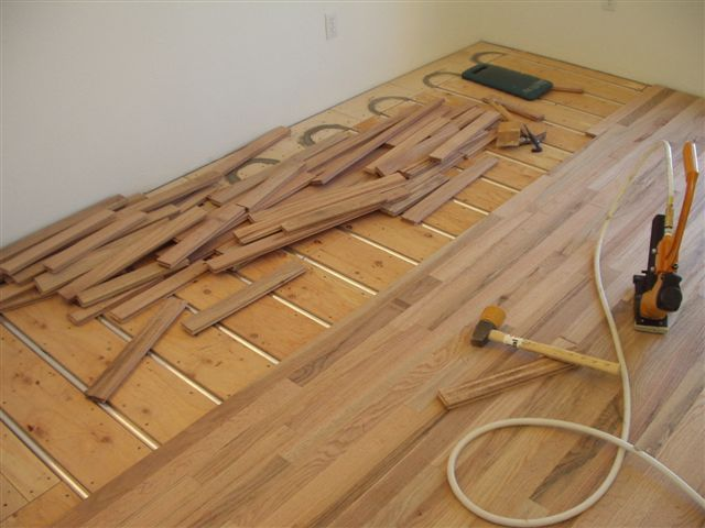 wood floor over radiant heating if you are building a new home or - Radiant Floor Heat