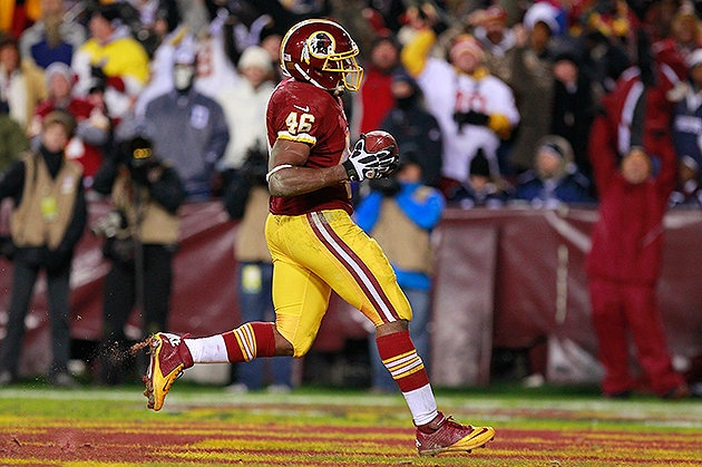 Alfred Morris powered the Redskins' NFC East-clinching win