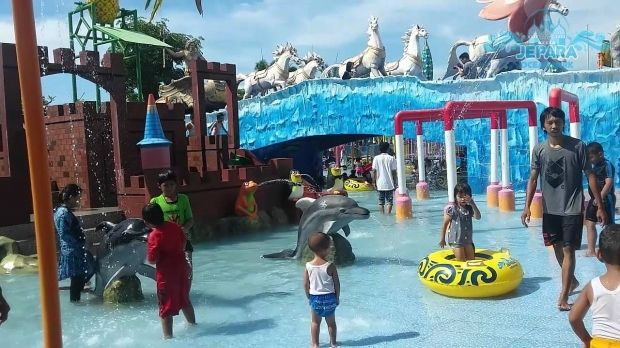 Kiddy Pool Jepara Ocean Park Jawa Tengah