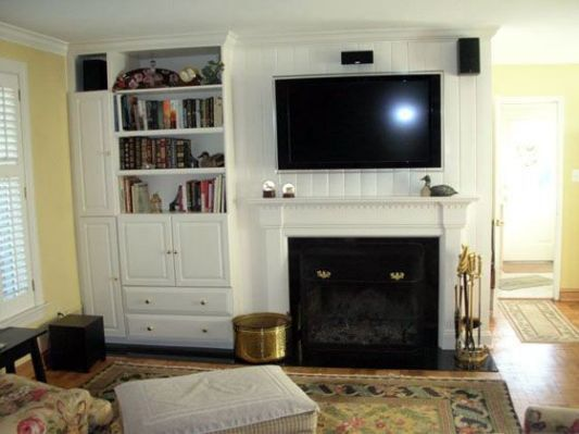 Off Center Fireplace Fireplaces