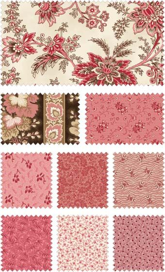 Samantha by Carrie Quinn for Penny Rose Fabrics—Subscribe to our newsletter at http://www.rileyblakedesigns.com/newsletter/