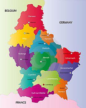 luxemburgo mapa - Buscar con Google
