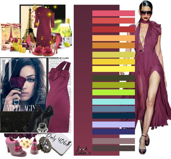 Модные цвета 2011. Бордовый цвет