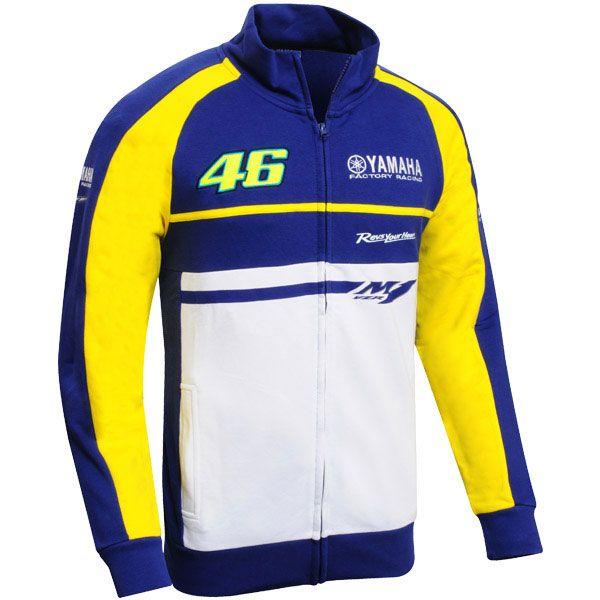 VAL1095 Rossi Yamaha 2015 Zip sweatshirt