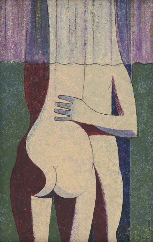 Ladislav Guderna: Milenci:1945 - 1960