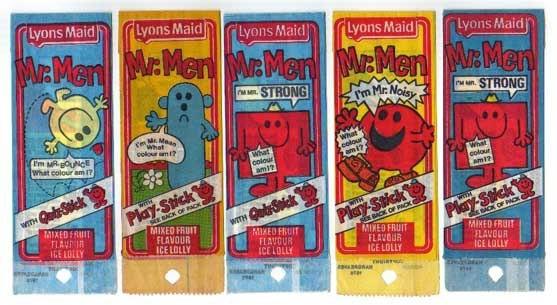Mr Men ice lollie