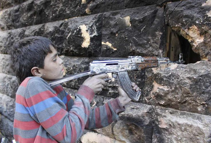 why not try these out http://earth66.com/human/13-year-old-fighter-free-syrian-army-aims-weapon-aleppos-bustan-basha-district/