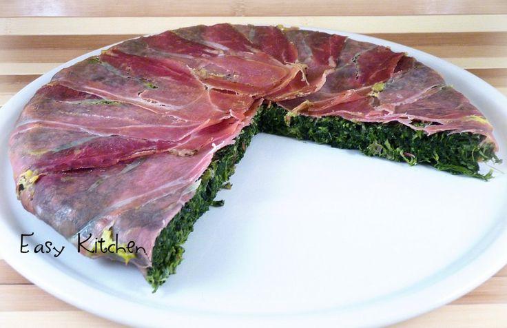 Frittata di spinaci e speck ricetta sfiziosa|Easy Kitchen