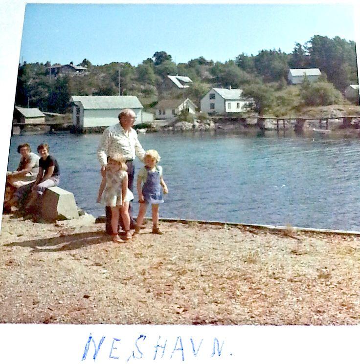 Neshavn på Tysnes ca 1975.