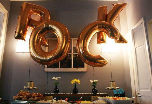 ROCK N ROLL Birthday party!