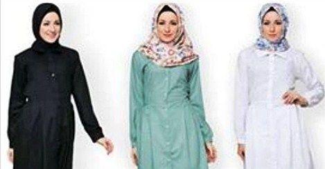10 Trik Paduan Berhijab Tunik Kemeja Panjang dan Legging Tetap Muslimah Dan Dinamis.