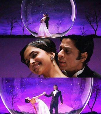 Shah Rukh Khan and Deepika Padukone - Om Shanti Om (2007)