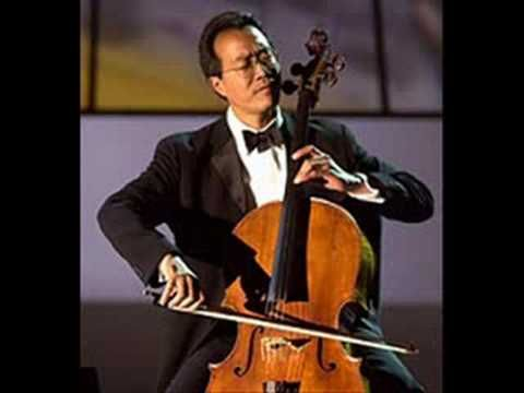 """Album: Yo-Yo Ma Plays Ennio Morricone (2004) --- Titles: Gabriel's Oboe (Track 1) and The Mission: The Falls (Track 2) --- Cello: Yo-Yo Ma --- Orchestra: Roma Sinfonietta Orchestra --- Music from the movie """"The Mission""""."""