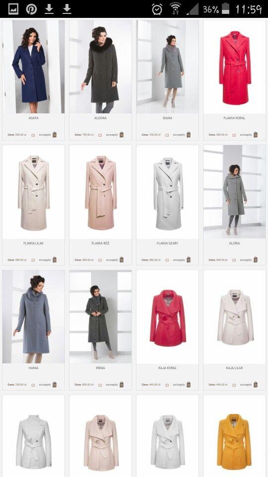Moris-płaszcze wiosenne i zimowe