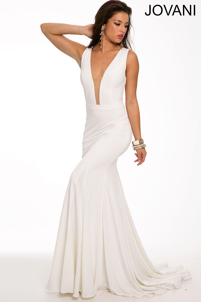 38 best Sleek White images on Pinterest | Party wear dresses ...