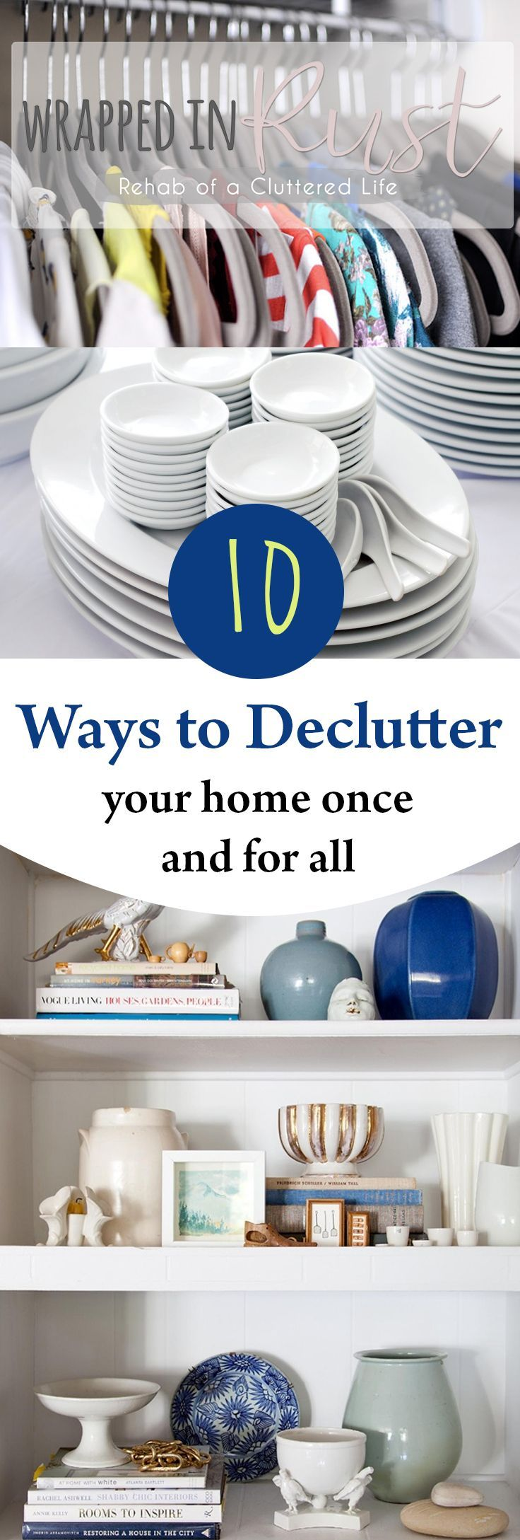 10 Ways to Declutter Your Home Once and For All