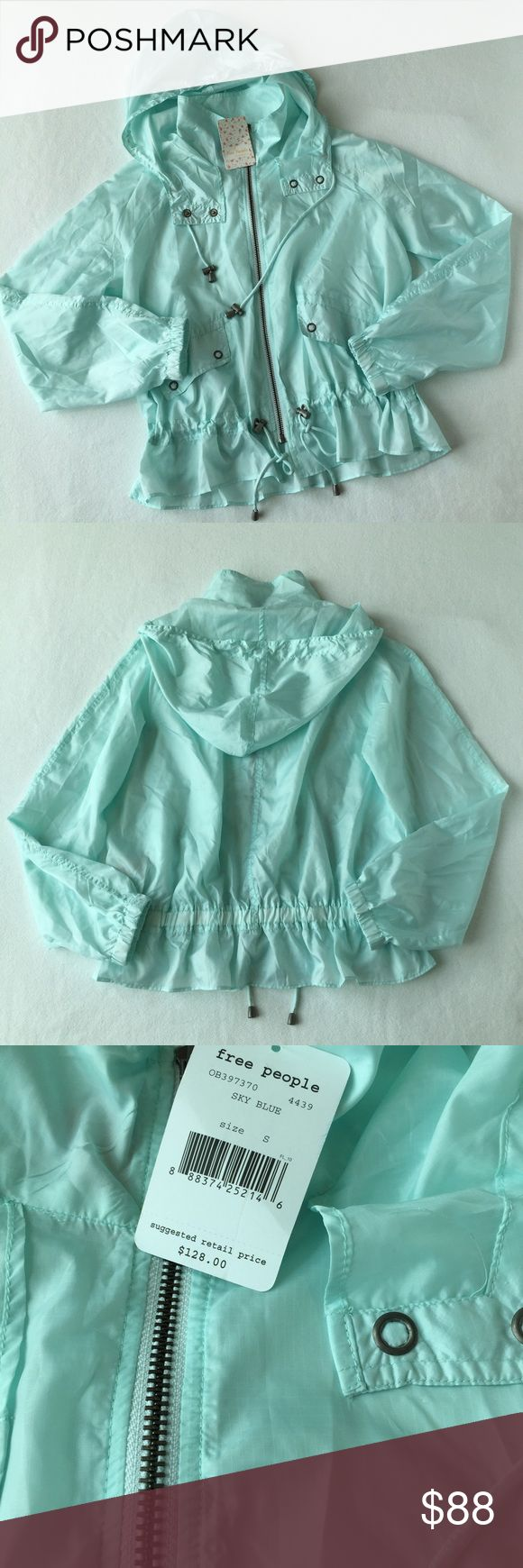 (NWT)Free People Sky Blue Jacket 👇PLZ READ THE COMPLETE DESCRIPTION BEFORE COMMENTING! Thank u!👇  NWT Size: S Retail: $128 100 % polyester    Color may be slightly different bcz of lighting  📛Price is FIRM unless bundled!📛 2 items➡️10% off 3 items➡️15% off(add to a bundle , then tag me to change the discount rate for u)  ❌Trades ❌Holds All sales r final! Welcome product-related questions! I am willing to provide more info, but ur responsible for ur size.💕 Free People Jackets & Coats
