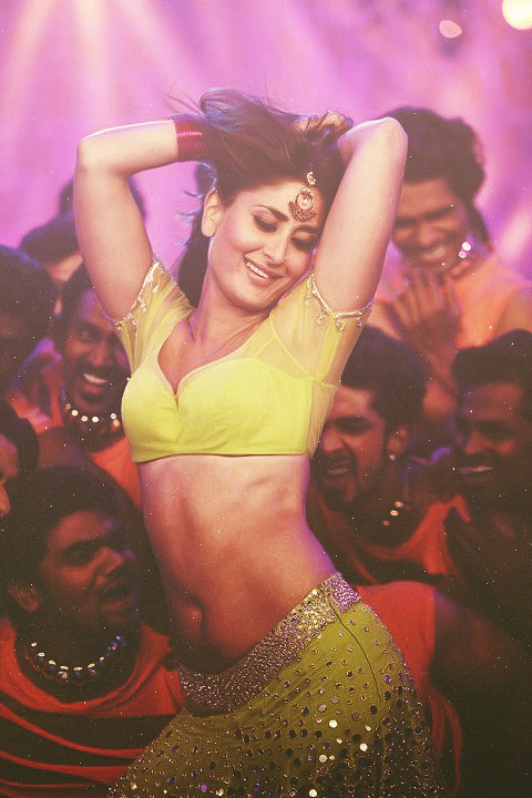 Bollywood present queen kareena kapoor in 'halkat jawani' item track