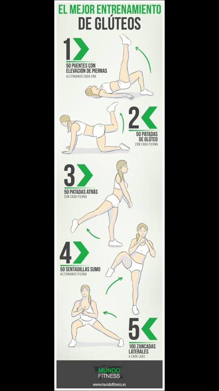 Ejercicio para piernas y gluteos!  Repite de 2 a 4 veces, depende de tu resistencia!