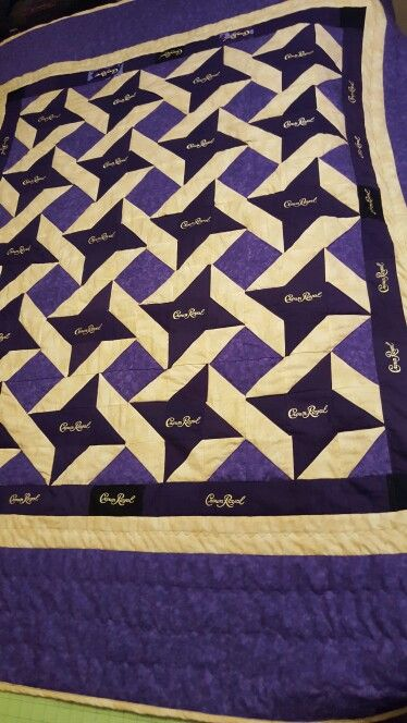 Crown Royal quilt                                                       …