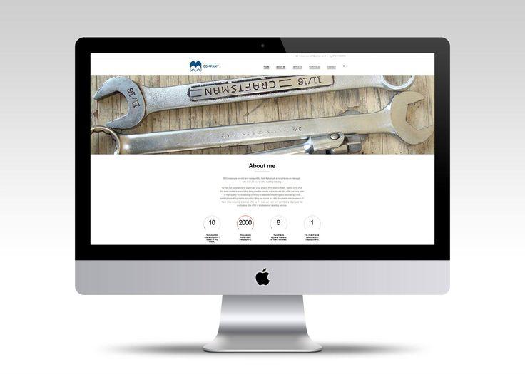 Strona internetowa dla firmy remontowej MMcompany. http://mmcompany.co.uk/  #webdesign #website #userinterface #minimalism #layout #www #stronywww #stronyinternetowe