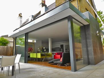 Ground floor rear and side extension in a Conservation Area in East Molesey - contemporary - Spaces - London - VC Design Architectural Servi...