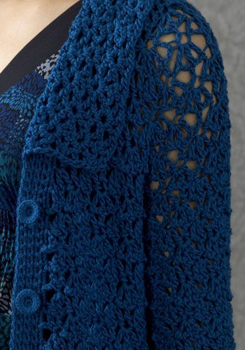 Amsterdam Coat By Doris Chan - Free Crochet Pattern - (naturallycaron)