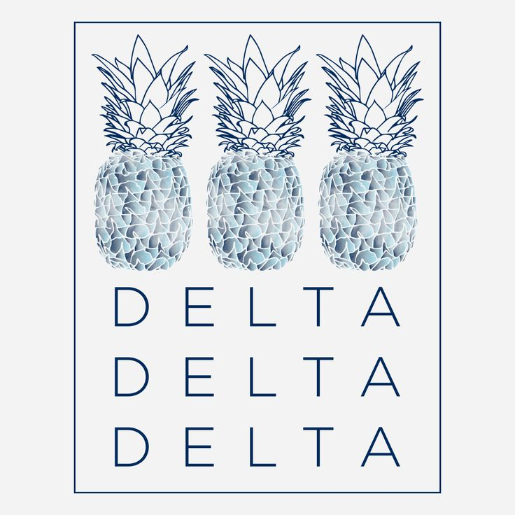 Tri Delta Spring Break Tie Dye Design By College Hill Custom Threads // Sorority and fraternity greek apparel and products.