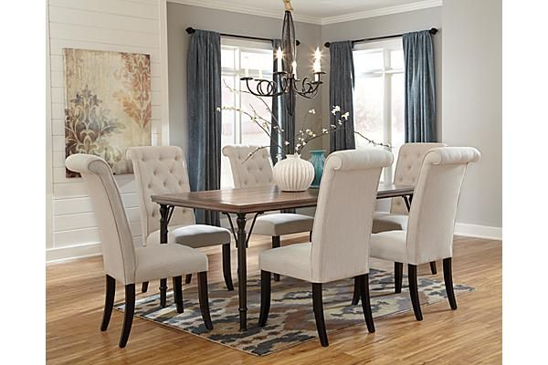 The Tripton Rectangular Dining Room Table from Ashley  : 6400162d789c2e3a1246e0d8c97fe9a4 dining room sets dining tables from www.pinterest.com size 600 x 400 jpeg 41kB