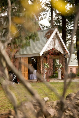 The wedding chapel.  www.providencecountryweddings.co.za
