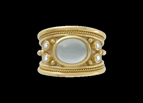 Elizabeth Gage, Tapered Templar Ring