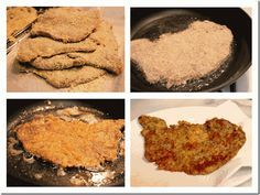 Excelente descripción fotográfica del proceso... (Milanesa's are my husbands new favorite.)
